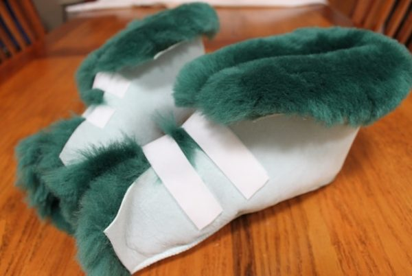 Open Toed Boots - Medical Slippers Ozwool Australian Sheepskin OZwool open toed medical slippers