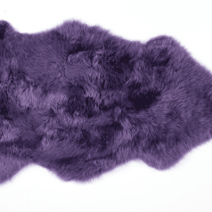 loganberry longwool sheepskin