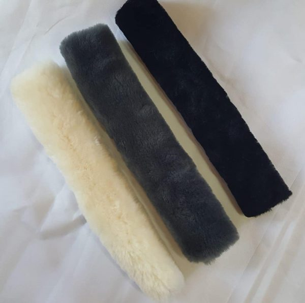 40cm sheepskin seat bely covers